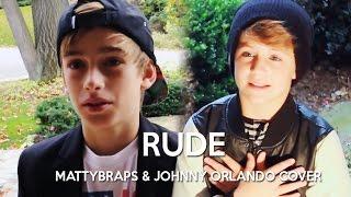 getlinkyoutube.com-Magic! - Rude (MattyBRaps & Johnny Orlando cover)