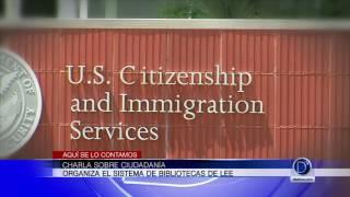 Charla sobre ciudadanía en el Condado Lee