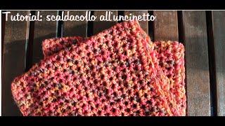 getlinkyoutube.com-Scaldacollo all'uncinetto semplice e veloce | How to crochet a fast and easy cowl