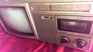 getlinkyoutube.com-Tv radio cassette Sharp