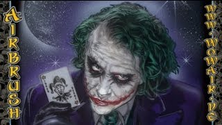 getlinkyoutube.com-No 005 Airbrush by Wow  Joker HD 1080.mp4