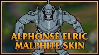 玩家自製石頭人SKIN-鋼之鍊金術士:阿爾馮斯‧愛力克