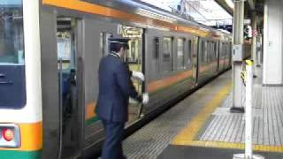 getlinkyoutube.com-東海道線211系と品川駅5番線発車メロディ