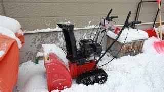 getlinkyoutube.com-中国製除雪は使えるのか?使えないのか? べた雪で検証してみた