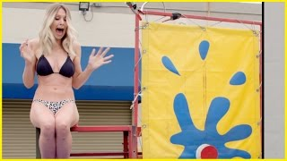 getlinkyoutube.com-BIKINI DUNK TANK CHALLENGE - Debate Your Fate