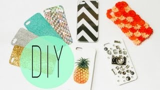 getlinkyoutube.com-DIY Cell Phone Case - How To Make Cute Iphone 6S Designs by ANN LE