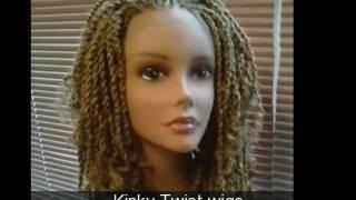 getlinkyoutube.com-Kinky twist and Braided Wigs