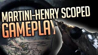Martini-Henry Scoped Sniper Gameplay - Battlefield 1