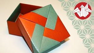 getlinkyoutube.com-Origami - Boîte de Tomoko Fuse - Tomoko Fuse Box [Senbazuru]