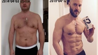 getlinkyoutube.com-Amazing One Year Body Transformation
