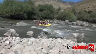 Vali Arslantaş'ın rafting heyecanı