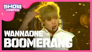 Show Champion EP.264 WANNA ONE   BOOMERANG