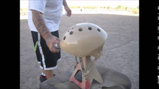 getlinkyoutube.com-How To Turn A Bicycle Helmet Into A Tactical Helmet For Airsoft Or Run And Gun.