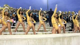 "getlinkyoutube.com-Southern University Dancing Dolls vs ASU Stingettes ""FULL GAME HIGHLIGHTS"" 2015"