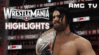 WWE 2K16 – WrestleMania 31 Highlights