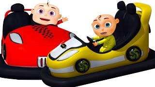 getlinkyoutube.com-Five Little Babies Playing Toy Cars | Zool Babies Fun Songs | Five Little Babies Collection