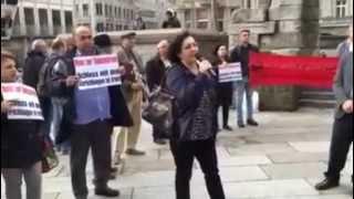 کلن- 25 آپریل روز جهانی اعتراض علیه اعدام های گسترده در ایران