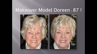 getlinkyoutube.com-Makeover Model - 87 yr old Doreen - Fast, Easy & Oh So Chic