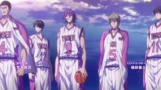 Kuroko no Basket 3 - Opening - [Legendado] - [HD]