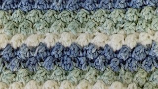 getlinkyoutube.com-Stitch Repeat Berry Stitch Free Crochet Pattern - Right Handed