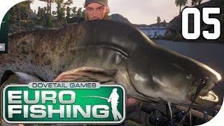 getlinkyoutube.com-DOVETAIL GAMES EURO FISHING #05 - Riiiiiieeesen Wels :D || Let's Play Euro Fishing || German