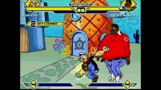 getlinkyoutube.com-mugen battle #5 popeye vs fat albert [HD]