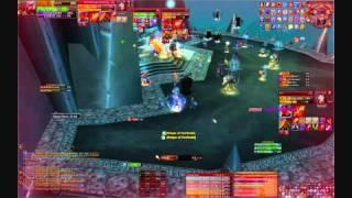 getlinkyoutube.com-100% Crit Fire Mage VS Saurfang