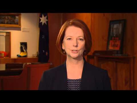 Merry Christmas from Prime Minister Julia Gillard - 2012