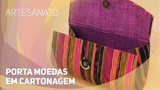 getlinkyoutube.com-Artesanato - Porta moedas em cartonagem (08/09/2015)