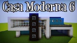 getlinkyoutube.com-Tutoriais Minecraft: Como Construir a Casa Moderna 6