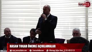 Hasan Togar önemli açıklamalar