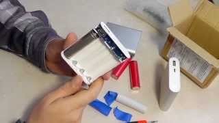 getlinkyoutube.com-собери свой PowerBank: DIY Kit USB 5V 2A Mobile Power Bank 4 x 18650