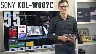 getlinkyoutube.com-Sony KDL-55W807C: обзор телевизора
