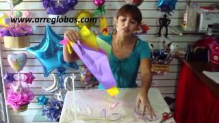 getlinkyoutube.com-centro de mesa tinkerbell www.arreglobos.com