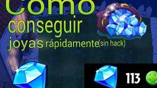 getlinkyoutube.com-Como conseguir joyas rápidamente (sin hack)Pvz 2