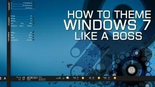 getlinkyoutube.com-How to Theme Windows 7 Like a Boss Nova Sev Style