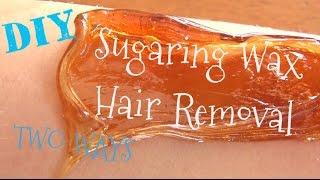 getlinkyoutube.com-DIY ♥ Sugaring Wax Recipe and Tutorial