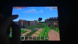 getlinkyoutube.com-Minecraft PE Seed รีวิว - หมู่บ้าน NPC