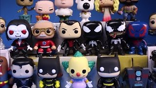 getlinkyoutube.com-New Funko Pop Figures Collection 2015 Exclusives Haul Review Hunting Unboxing Gamestop Black Friday