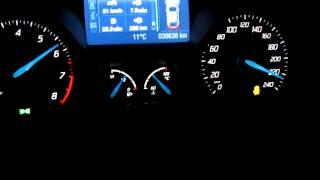 getlinkyoutube.com-Ford Focus MK3 Ecoboost 134KW (182PS) 0-100-180-220 und Topspeed