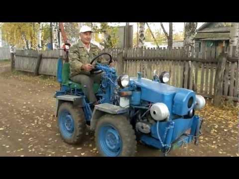 Самодельный трактор от Хакимовых