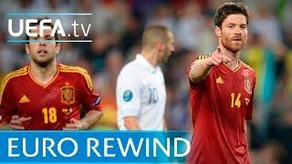 UEFA EURO 2012 highlights: Spain 2-0 France