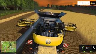getlinkyoutube.com-(LS15) dreschen mit dem  New Holland Agriculture CR 10,90 - Landwirtschafts Simulator 2015