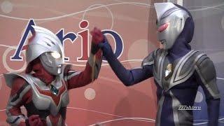 【ウルトラマン】闇の戦士VS光の戦士☆特撮変身キャラクターヒーローショー★アリオ鳳Ultraman,Ultra Heroes vs Ultra Dark Heroes