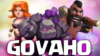 """HOW TO """"GOVAHO"""" TH9 3 Star Attack Strategy 