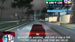 getlinkyoutube.com-Grand Theft Auto Vice City- Love Fist car bomb mission