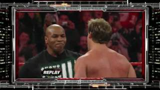WWE Mike Tyson e Jerico VS The Degeneration X 11/01/2010