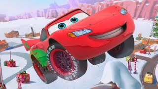 getlinkyoutube.com-Disney Pixar Cars Fast as Lightning McQueen: Unlock The King Of Racing Lightning McQueen