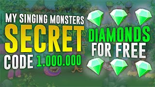 getlinkyoutube.com-My Singing Monsters : SECRET CODE 1 000 000 DIAMONDS ! [ iOS/Android ] (No Download)