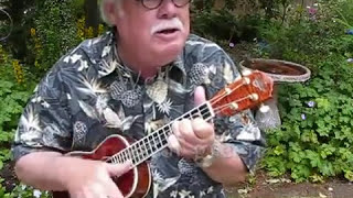 "SOMEWHERE OVER THE RAINBOW for the UKULELE - UKULELE LESSON / TUTORIAL by ""UKULELE MIKE"""